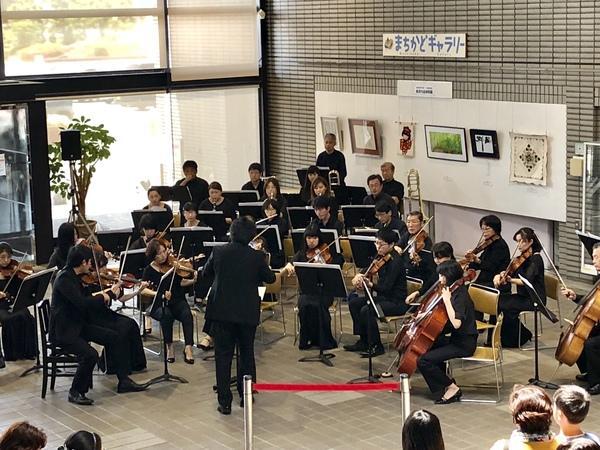 オーケストラのロビーコンサート