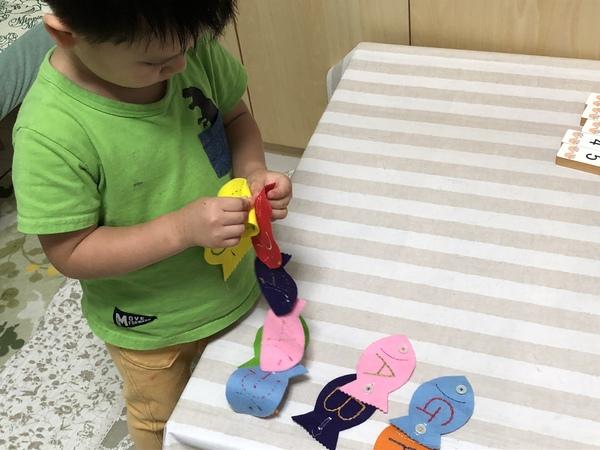 2歳児のレッスン