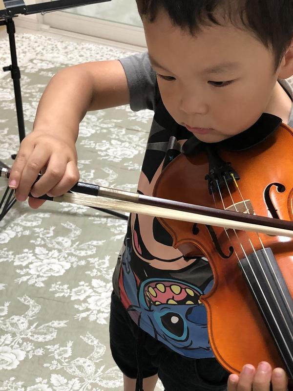 バイオリンとピアノの合わせ練習!